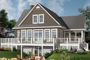 Contemporary Style House Plan - 4 Beds 3 Baths 2416 Sq/Ft Plan #23-2317