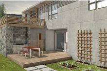 Modern Exterior - Other Elevation Plan #497-58