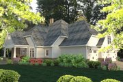 Craftsman Style House Plan - 3 Beds 2.5 Baths 2575 Sq/Ft Plan #120-183 Exterior - Other Elevation