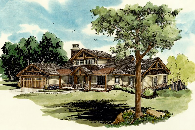 House Plan Design - Country Exterior - Front Elevation Plan #942-24