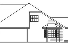 Dream House Plan - Exterior - Other Elevation Plan #124-716