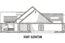 Dream House Plan - Ranch Exterior - Other Elevation Plan #17-1166