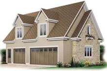 House Plan Design - Colonial Exterior - Front Elevation Plan #23-438