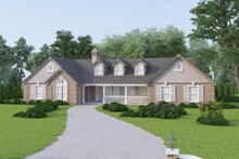 Home Plan - Traditional Exterior - Front Elevation Plan #57-190