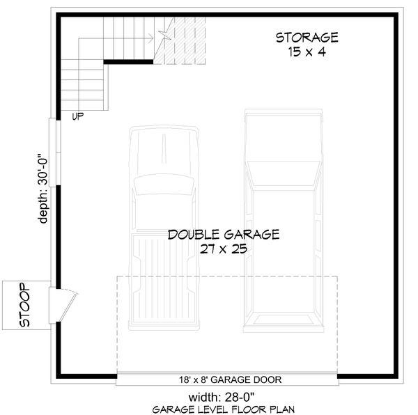 Country Floor Plan - Main Floor Plan #932-84