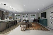 House Design - Ranch Interior - Family Room Plan #1060-101
