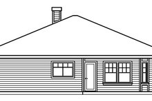 Dream House Plan - Cottage Exterior - Other Elevation Plan #124-364