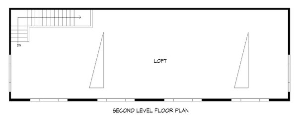 Colonial Floor Plan - Upper Floor Plan Plan #932-279