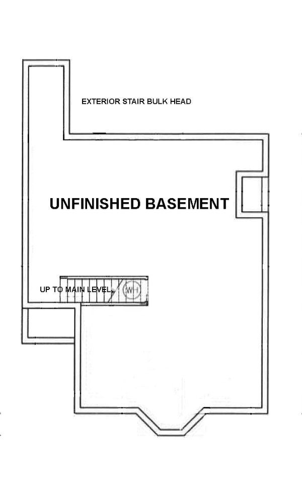 Architectural House Design - European Floor Plan - Other Floor Plan #45-104