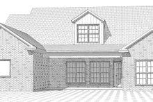 Home Plan - European Exterior - Rear Elevation Plan #63-316