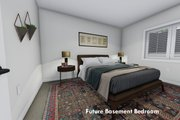 Ranch Style House Plan - 3 Beds 2 Baths 1709 Sq/Ft Plan #1060-41 Interior - Bedroom