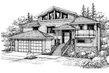 Home Plan - Exterior - Front Elevation Plan #124-328