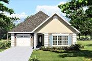 European Style House Plan - 2 Beds 2 Baths 1312 Sq/Ft Plan #44-132