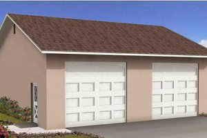 Traditional Exterior - Front Elevation Plan #1-1001