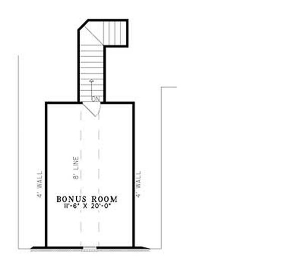 European Floor Plan - Other Floor Plan #17-156