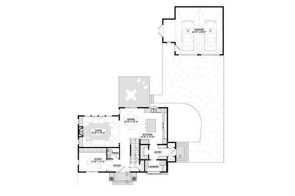 Traditional Floor Plan - Other Floor Plan Plan #928-349