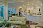 European Style House Plan - 5 Beds 6.5 Baths 8930 Sq/Ft Plan #453-50 Interior - Family Room