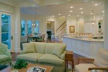 House Design - European Interior - Family Room Plan #453-50