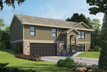 Architectural House Design - Traditional Exterior - Front Elevation Plan #20-2347