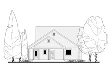 Dream House Plan - Traditional Exterior - Rear Elevation Plan #430-145