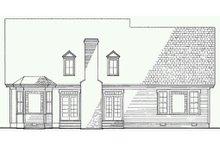 Architectural House Design - Victorian Exterior - Rear Elevation Plan #137-164