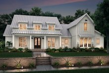 Dream House Plan - Farmhouse Exterior - Front Elevation Plan #430-251