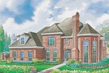 Home Plan Design - European Exterior - Front Elevation Plan #20-1161