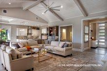 House Design - Contemporary Interior - Family Room Plan #930-476