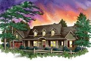 Country Style House Plan - 3 Beds 2.5 Baths 2780 Sq/Ft Plan #71-119