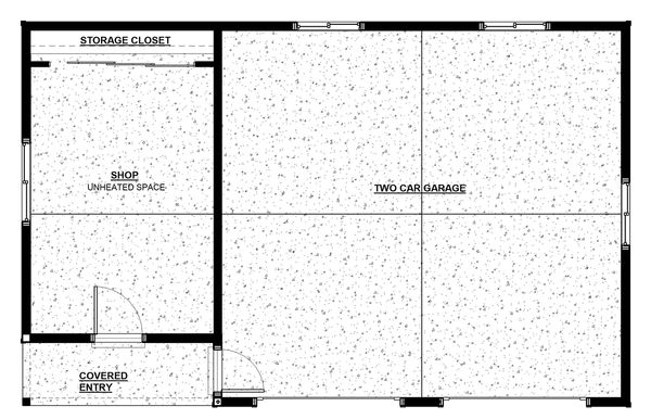 House Plan Design - Traditional Floor Plan - Main Floor Plan #895-107