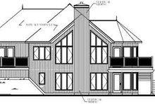 Modern Exterior - Rear Elevation Plan #23-162
