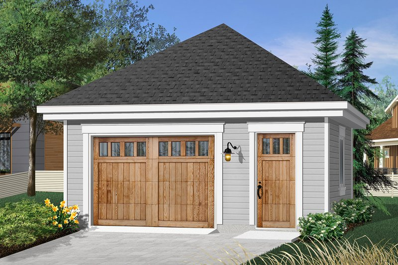 Architectural House Design - Traditional Exterior - Front Elevation Plan #23-769