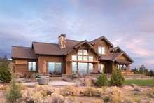 Craftsman Exterior - Rear Elevation Plan #892-16