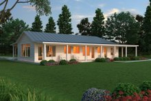 House Design - Ranch Exterior - Other Elevation Plan #888-5