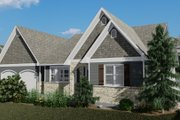 Cottage Style House Plan - 2 Beds 2 Baths 1641 Sq/Ft Plan #1060-64 Exterior - Front Elevation