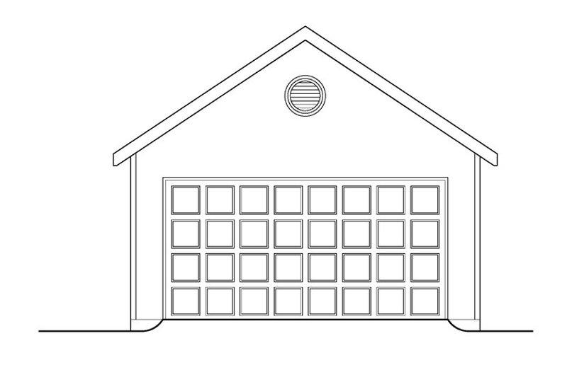 Craftsman Exterior - Other Elevation Plan #419-264 - Houseplans.com