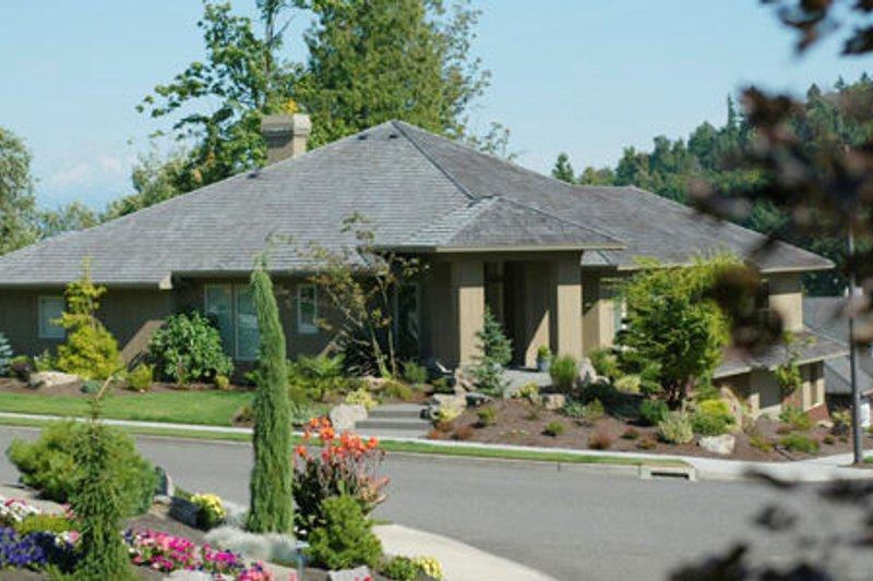 Exterior - Front Elevation Plan #48-298 - Houseplans.com