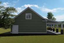 Dream House Plan - Traditional Exterior - Rear Elevation Plan #1060-81