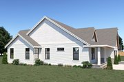 Country Style House Plan - 3 Beds 2 Baths 1784 Sq/Ft Plan #1070-37 Exterior - Other Elevation