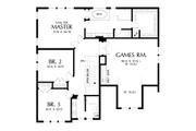 Craftsman Style House Plan - 3 Beds 2.5 Baths 2976 Sq/Ft Plan #48-1002 Floor Plan - Upper Floor
