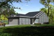 Adobe / Southwestern Style House Plan - 2 Beds 2 Baths 1315 Sq/Ft Plan #1-296