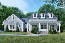 Architectural House Design - Country Exterior - Front Elevation Plan #923-122