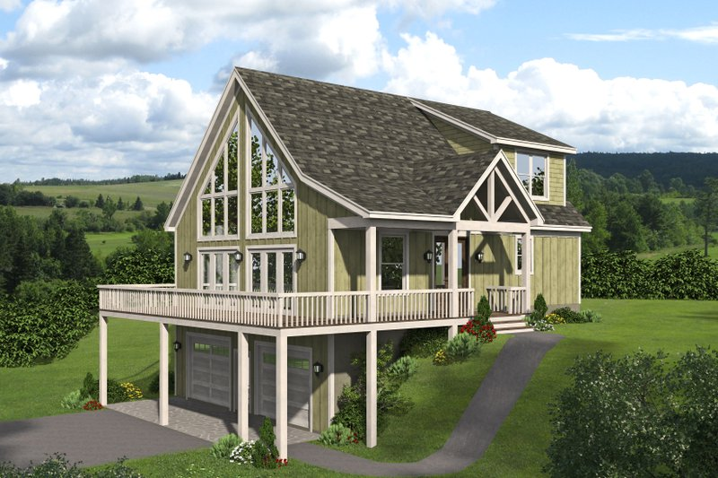 House Plan Design - Traditional Exterior - Front Elevation Plan #932-440