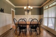Craftsman Style House Plan - 4 Beds 3 Baths 2644 Sq/Ft Plan #927-25 Interior - Dining Room