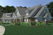 Cottage Style House Plan - 3 Beds 2.5 Baths 2662 Sq/Ft Plan #120-252 Exterior - Front Elevation