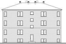 Home Plan - European Exterior - Rear Elevation Plan #23-2050