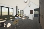 Modern Style House Plan - 2 Beds 2 Baths 853 Sq/Ft Plan #933-11 Interior - Dining Room