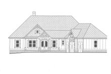House Plan Design - Craftsman Exterior - Front Elevation Plan #437-103