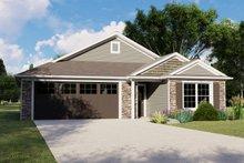 Dream House Plan - Cottage Exterior - Front Elevation Plan #1064-104