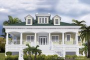 Southern Style House Plan - 3 Beds 3.5 Baths 2756 Sq/Ft Plan #930-18